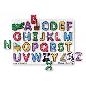 M And D Seeinside Alphabet Peg Puzzle