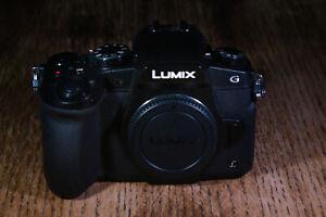 Panasonic Lumix G85 W/ 12-60mm Kit lens, Strap, Batteries, Original Box
