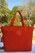 New With Tag Kipling ASIENA Medium Tote Shoulder Bag - Luminous Orange