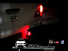 Mazda bt50 RED L.e.d numberplate bulbs 2012- 2017 by FLDesigned