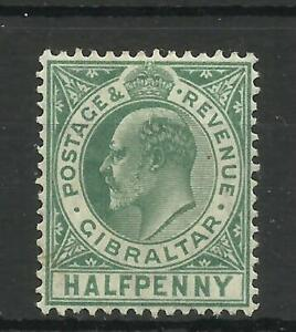 1906-11 1/2d Blue-Green Sg 66, Lightly Mounted Mint. {Imp-182}