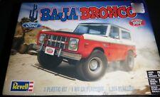 REVELL 85-4436 BAJA BRONCO FORD 4X4 1/25 MODEL CAR MOUNTAIN KIT FS