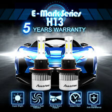 Lumileds H13 9008 LED Headlight Bulbs Kit for Ford F150  High Lo Beam 6500K 900W