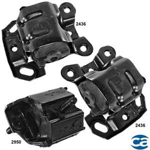 Engine Motor Mounts & Trans. Mount 3Pcs Set for Chevrolet Astro 90-93 4.3L