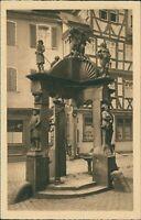 Ansichtskarte Wertheim a. M. Engelsbrunnen (Nr.9356)