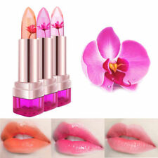 Jelly Natural Flower Lipstick Color Changing Long Lasting Lip Gloss Rouge