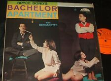 BRYCE BOND Bachelor Apartment LP SEXY CHEESECAKE COVER NICE !!
