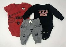 Carters Baby Boys Newborn Clothing One Piece & Pant Bottoms Lot of 16