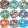 50x Natural Stone Semi Precious Chip Drilled Tumble Beads Crafts Handmade Acces