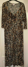 Long Animal print design dress by Glamorosa