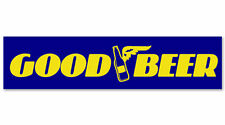 GOOD BEER (Blue/Yellow) Car Sticker/Decals/Graphics by Stickers4