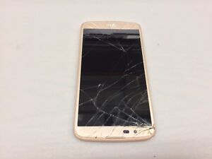 LG K10 LGMS428 GOLD METRO SMARTPHONE (NOT WORKING-FOR PARTS)