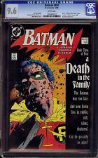 "Batman #428...CGC 9.6 NM+...Death of Robin (Jason Todd)...""Death in the Family"""