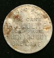 PALMOLIVE TOKEN MEDALLION REDEEM FOR ONE CAKE OF SOAP PURCHASE ONE