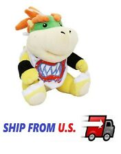 "NEW Super Mario Plush - 7"" Bowser Jr. Soft Stuffed Plush Toy US seller"