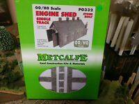 Metcalfe PO332 Engine Shed Stone Single Track kit OO scale