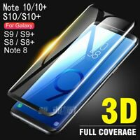 For Samsung Galaxy S10 S9 S8 Plus Note 10 9 8 S7 Tempered Glass Screen Protector