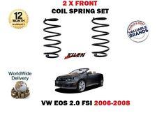 POUR VOLKSWAGEN VW EOS 2.0 FSI 150BHP 2006-2008 2 X RESSORT HÉLICOÏDAL AVANT SET