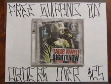 CD TALIB KWELI RIGHT ABOUT NOW MIXTAPE FEAT DAVE CHAPPELLE MF DOOM KILLER MIKE