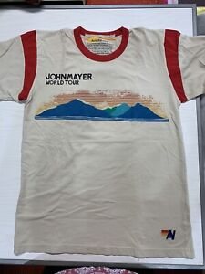 John Mayer World Tour Aviator Nation T-Shirt Size Med***RARE***