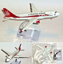 True Malaysian Mahathir Airlines Airbus A320 Airplane 16cm DieCast Plane Model