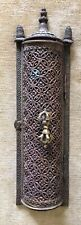 ANTIQUE TIBETAN COPPER VAJRA WALL CANDLE HOLER