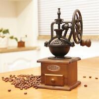 Wooden Vintage Grinder Manual Coffee Bean Grinding Retro Hand Coffee Grinder