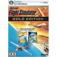 Microsoft Flight Simulator X Gold Edition PC Windows Factory