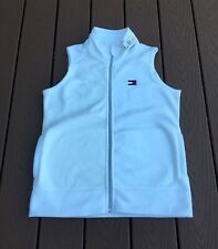 Tommy Hilfiger Sport Women/'s Navy Full Zip Sleeveless Vest Jacket NWT Sz S M $49