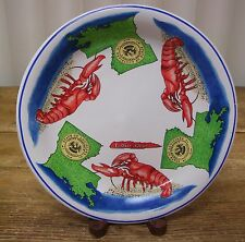 Lobster Shellfish Louisiana State Plate Confidence Del Champs