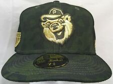 Pawtucket Red Sox MLB/MiLB New Era 59fifty Military Tribute 7&3/8 fitted cap/hat
