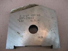 2 12 D Hs Edp 23612 Lsi Usa Slotting Spade Drill Insert Fits Amec Holders 363b