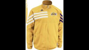 NBA Lakers Real Game Time Jacket XXL (On Court)