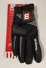 Wilson RAGE Women's Performance Black Racquetball Glove Size M