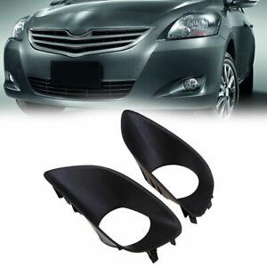 Front Bumper Fog Light Bezel Cover Trim Fit For Toyota Belta 06-12 52128-0D090