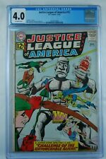 JUSTICE LEAGUE OF AMERICA #15 CGC 4.0 GREEN LANTERN WONDER WOMAN 11/62