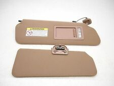 New OEM Sun Visor Ford F-150 F150 Expedition Navigator 1997-1999 Cloth Right Tan