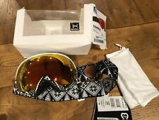 NEW Anon Tempest Ski Snow Goggles W/ Red Solex Lens