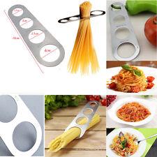 ACERO INOXIDABLE espagueti Medidor pasta Tool Utensilio Cocina Plateado NUEVO