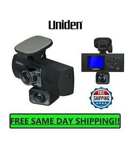 UNIDEN Dash Cam Dual Camera Auto Video Recorder Front Rear 1080P Mount Mirror