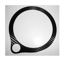 Ducati ST2 ST4 1998-2001 Carbon Fibre Look Clock Surround Protector Cover Decal