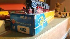 ROCO échelle ho Locomotive 150 et son tender BR 58  réf : 4112