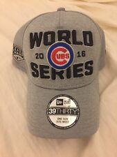 Chicago Cubs National League Champions World Series Hat 2016 Flex Cap New Era