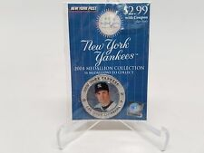 2004 NY Yankees Mike Mussina New York Post Medallion Collection