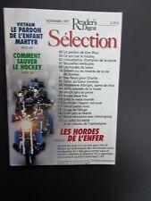Selection Reader's Digest Magazine Novembre 1997 Francais Neuf  Kim Phuc Vietnam