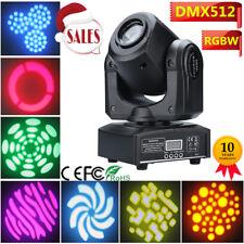 30W RGBW LED Stage Lighting Spot Gobo Moving Head DMX Disco DJ Party Club Light