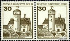 Berlijn (West) 534A horizontaal Echtpaar postfris 1977 Kastelen en Sloten