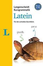 Langenscheidt Kurzgrammatik Latein - Buch mit Download von Linda Strehl (2016, Taschenbuch)