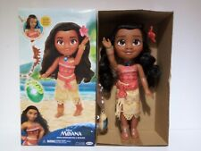 DISNEY MOANA ADVENTURE DOLL & NECKLACE JAKKS PACIFIC 14 INCHES CONTENTS SEALED