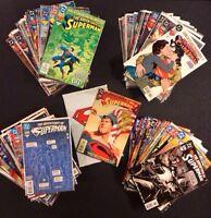 ADVENTURES OF SUPERMAN #500 - 600+ Full Run Comic Books #500 White Poly +Poster